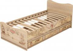 Детская кровать с ящиком 04 «Квест»